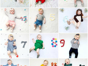KIT // FIRST YEAR MONTHLY STYLED PHOTOS