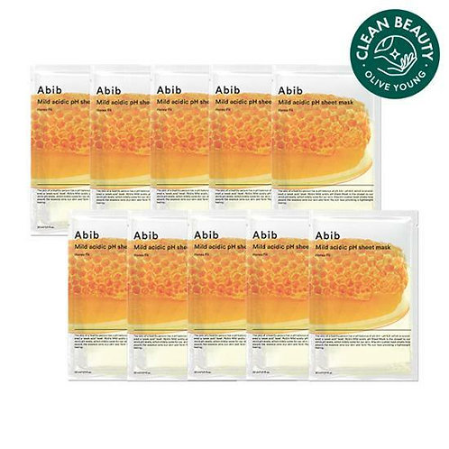 [Abib] Mild acidic pH sheet mask honey 30ml 弱酸性營養蜂蜜面膜