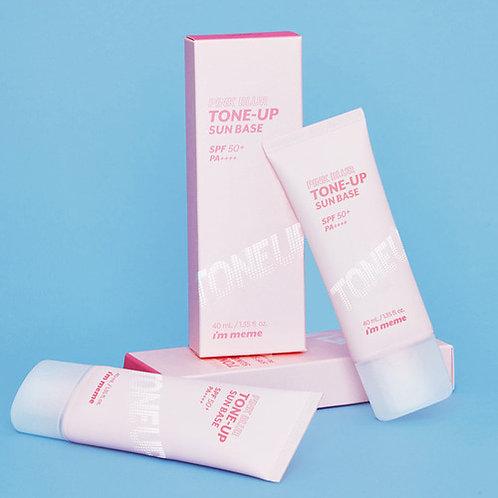 [IM MEME]  Pink Blur Tone Up Sun Base
