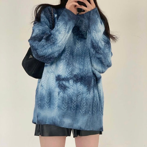Unisex Tie-dyed Sweater [Must Have Items]