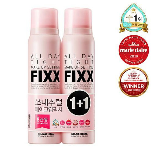 [So Natural] All Day Make Up Fixer 120ml 1+1 Special Set