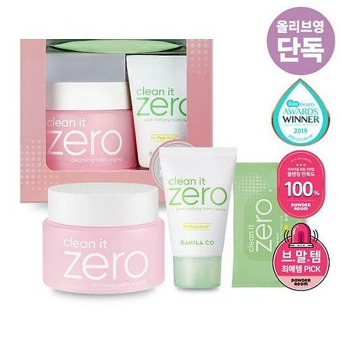 [Banila co] Clean It Zero Cleansing Balm Original plan( 100ml+30ml+10 sheets)