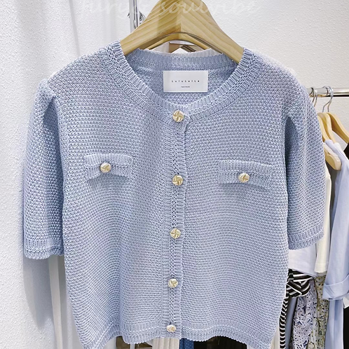 Button Knit Outter