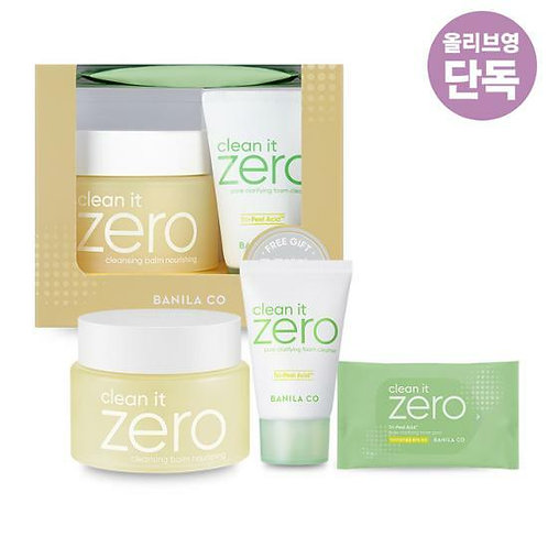 [Banila co] Clean It Zero Cleansing Balm Nourishing Plan(100ml+30ml+10EA)