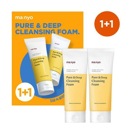[Manyo Factory] Pure & Deep Cleansing Foam 1+1 Special Set