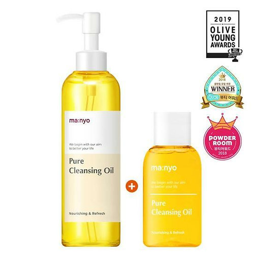 [Manyo Factory] Pure Cleansing Oil 200ml + 55ml Special Pack