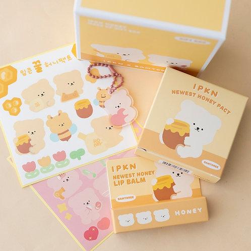 [IPKN x BAMTOREE] Newest Honey Pact & Lip Balm Planning Set