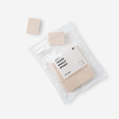 [JAJU] 方形化妝海棉 8P