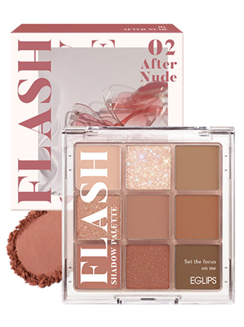 [Eglips~28/3] Flash Shadow Palette 02  After Nude+Mascara 的副本