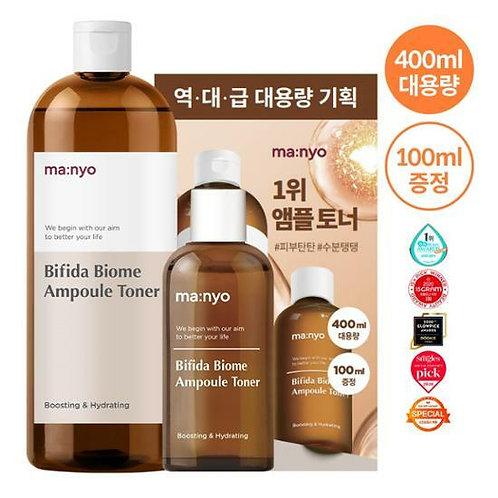 [ManyoFactory] Bifida Biome Ampoule Toner 400ml+100ml Planning Set