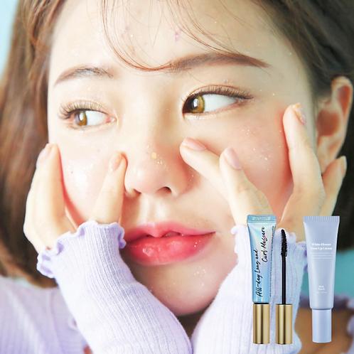 [Milk Touch] White Flower Tone Up Cream + mascara