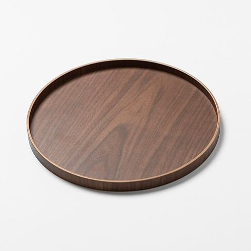 [JAJU] Round Wood Tray (21cm /33cm)