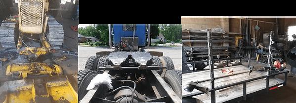 dump truck body and heavy equipment repa