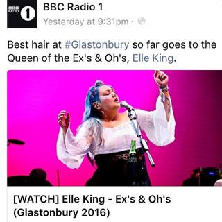 ELLE KING | GLASTONBURY