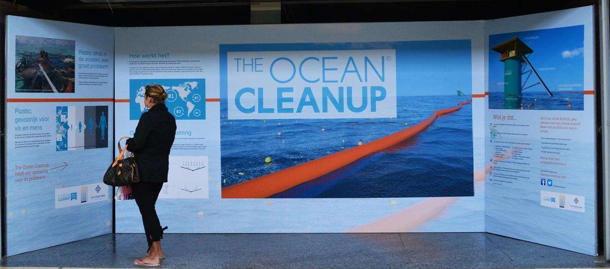 Expositie Ocean CleanUp