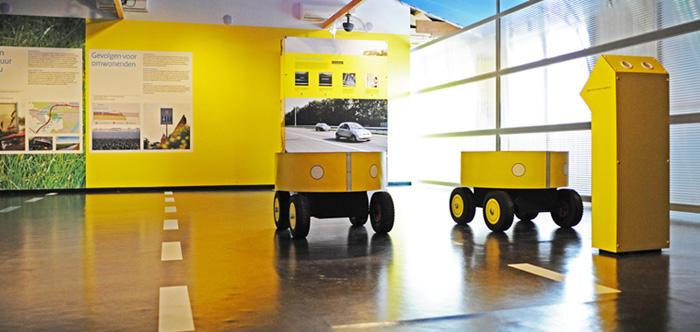 Interieur informatiecentrum 2e Coentunnel Amsterdam Rijkswaterstaat / Zandbeek