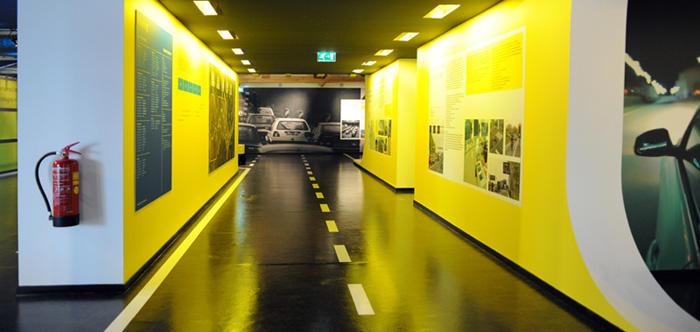 Interieur informatiecentrum 2e Coentunnel Amsterdam