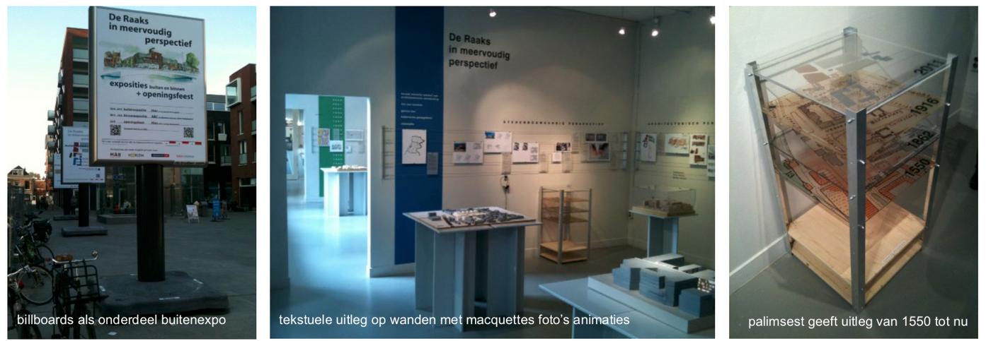 Expositie Raaks stedelijk gebied Haarlem