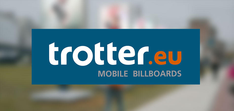 LOGO EN HUISSTIJL TROTTER mobile billboards