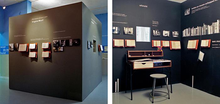 Tentoonstelling Schrijvershuizen  ABC Architectuurcentrum Haarlem