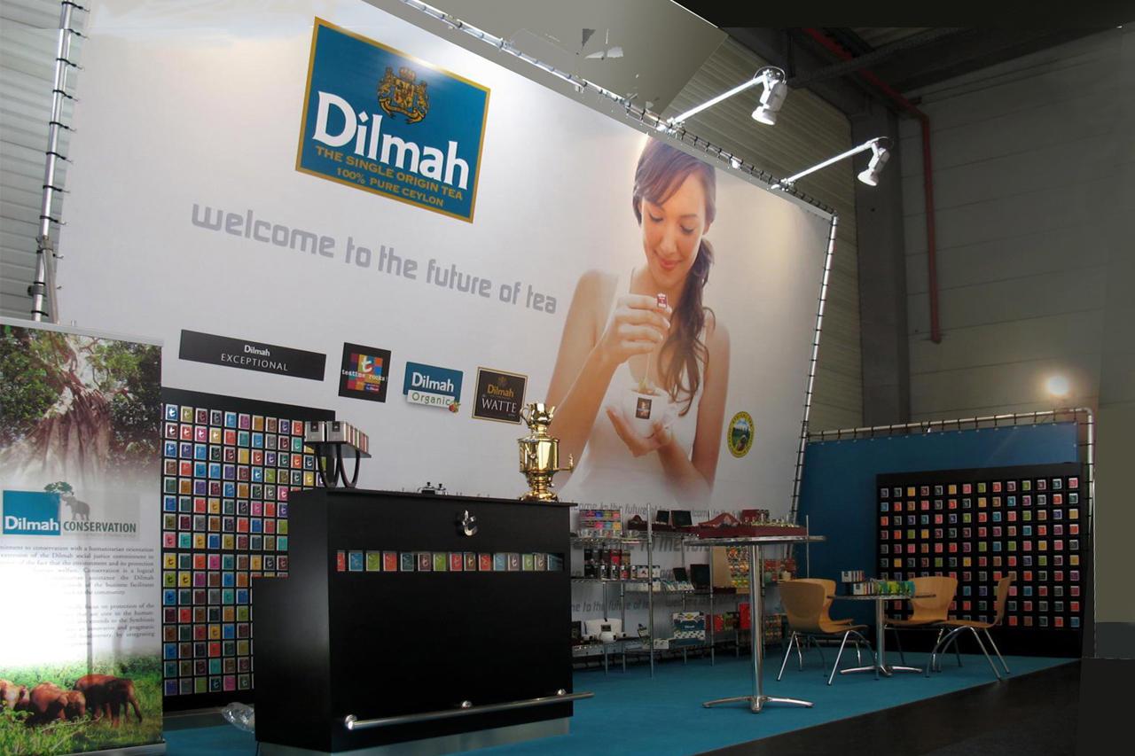 Beursstand Dilmah Thee Concept