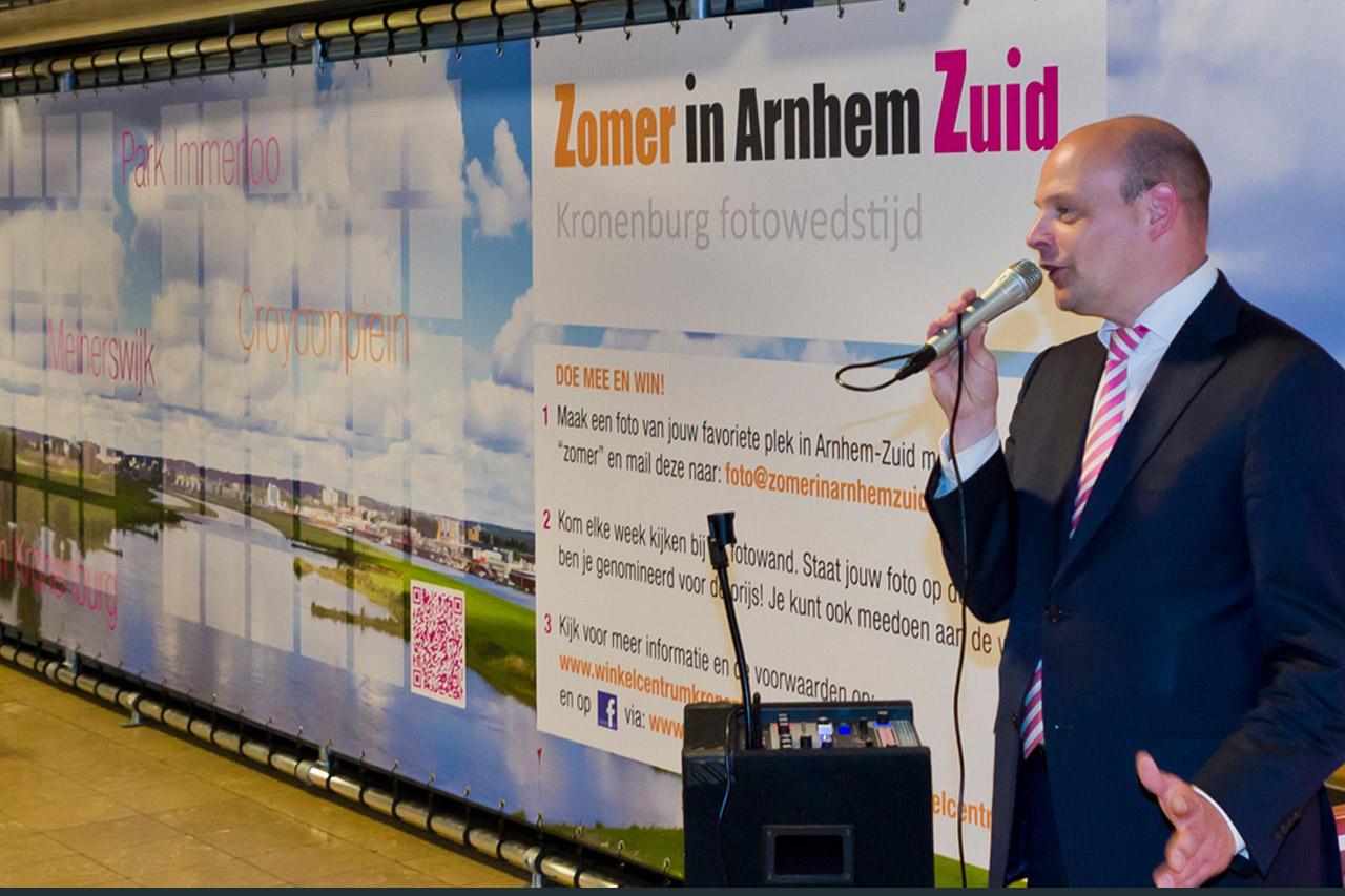 Opening expositie Zomer in Arnhem Zuid