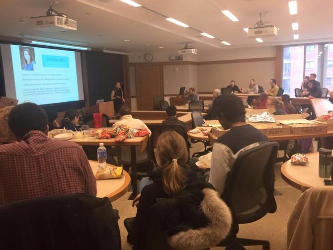Speaking at Harvard Law School on Social Media