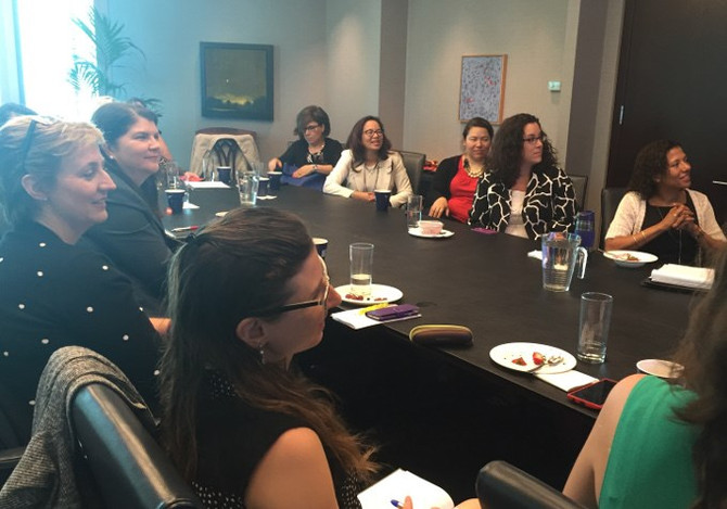 Speaking to the Council of Women Executives at Odgers Berndtson