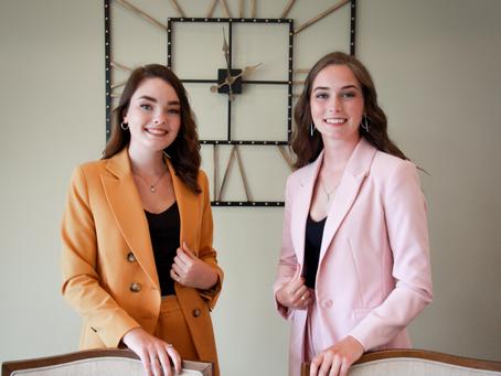 Maysee McLean & Whitney Keunen, Student Leaders
