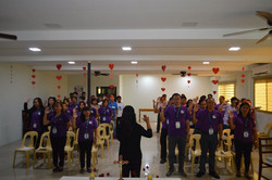 """PENRO Tarlac """"Kick off activities"""" in celebration of the 2020 National Women's Month."""