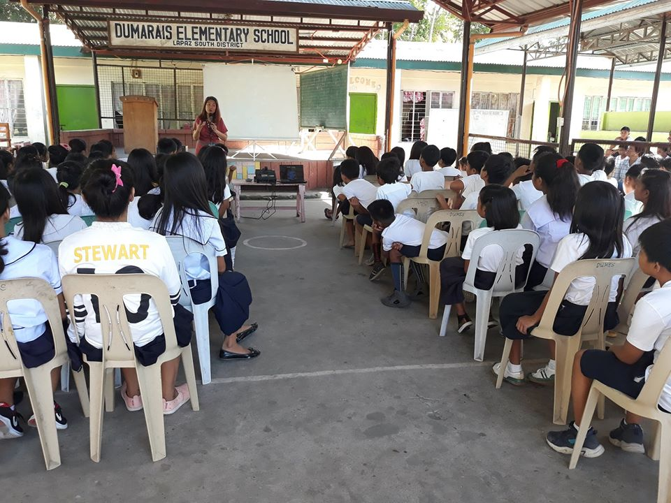 DENR Tarlac celebrated World Wild life Day with the Grades 5 and 6