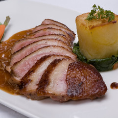 Muscovy Duck Breast with Potato Cube