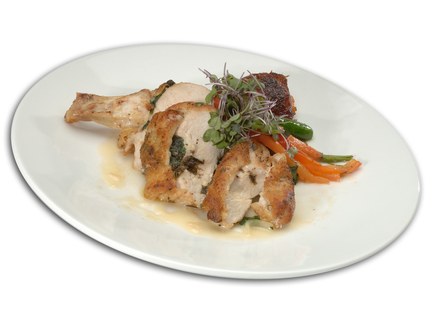 Herb-Crusted Airline Chicken