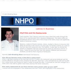 NHPO Interview