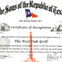 03/06/08 The Sons of the Republic of Texas