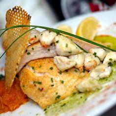 Sauteed Flounder with Jumbo Lump Crabmeat