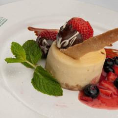 Key Lime Pastry with Grand Marnier Sauce