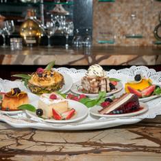 Post Oak Grill Dessert Tray