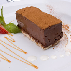 Chocolate Marquise with Mexican Caramel