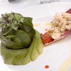 Spinach & Avocado with Jumbo Lump Crab