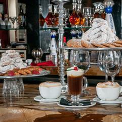 Irish Coffee and Frangelico Lattes