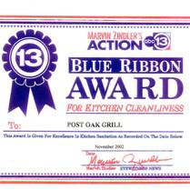 11/01/02 ABC 13 Marvin Zindler's Award