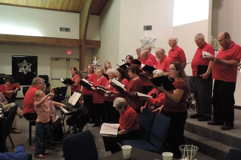 Christmas Concert 12-2014 at Argyle C of