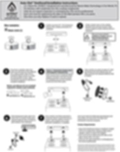 Auto-Out Venthood Stovetop Fire Stopping Suppressors Installation Instructions