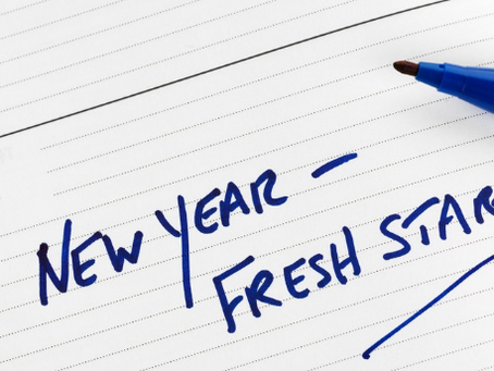 New Years Resolutions!