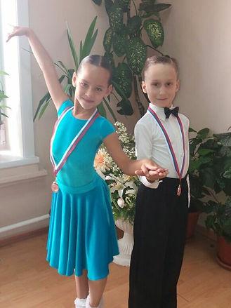 Ляхницкий Антон - Смоленцева Анжелина, Хабаровск Мозаика, Бальные танцы