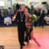 Поздравляем наш взрослый танцевальный дуэт с прекрасным результатом на турнире в Словакии