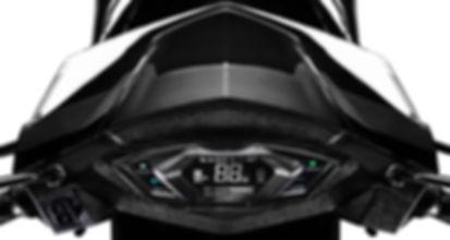 swag electric motorcycle type-x meters