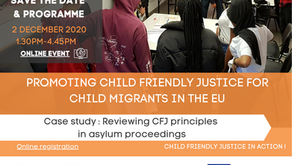 Programme - 2 December 2020 - Final event - Child Friendly Justice in Action