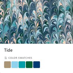 Tide Color Palette